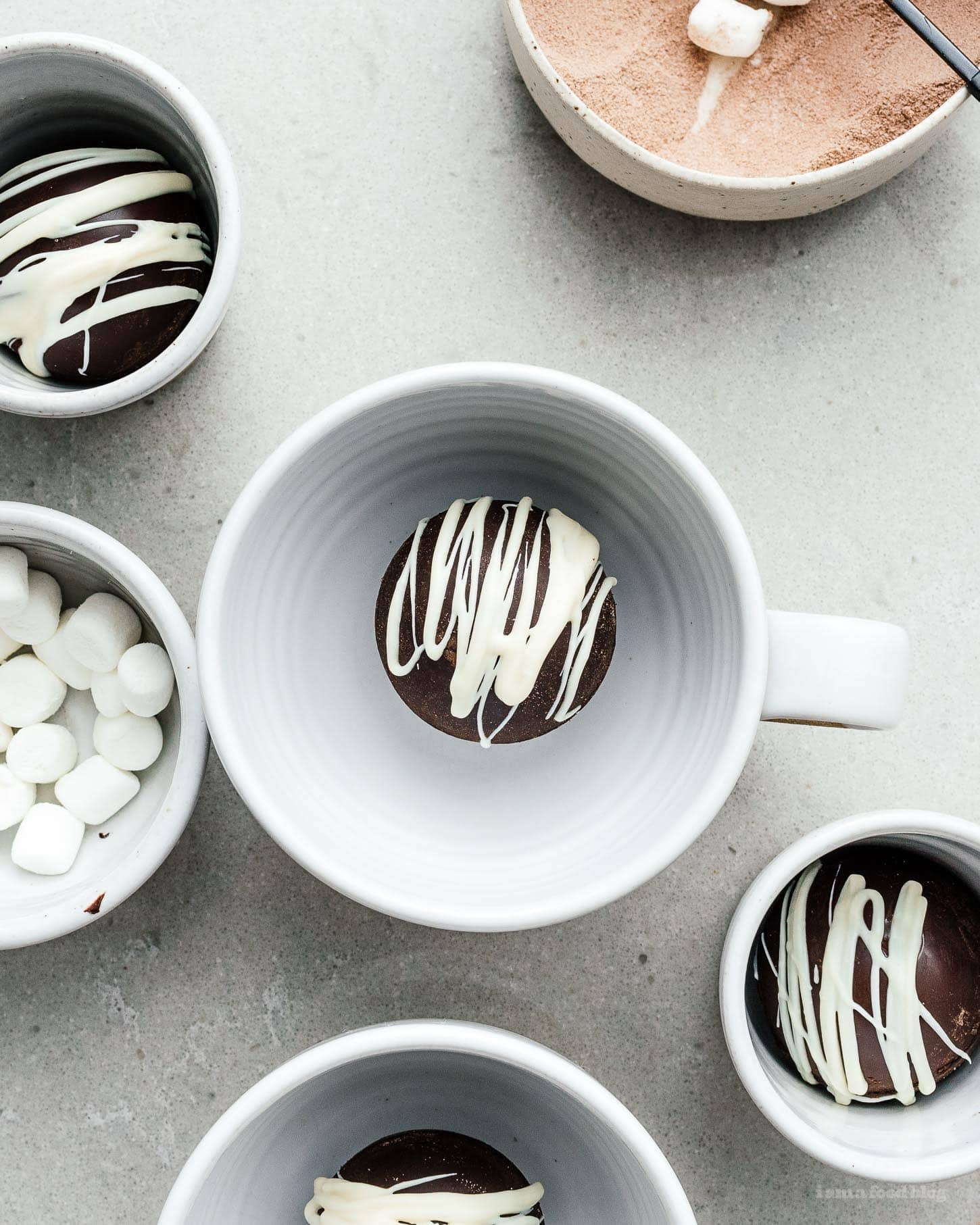 hot chocolate bombs |  www.iamafoodblog.com