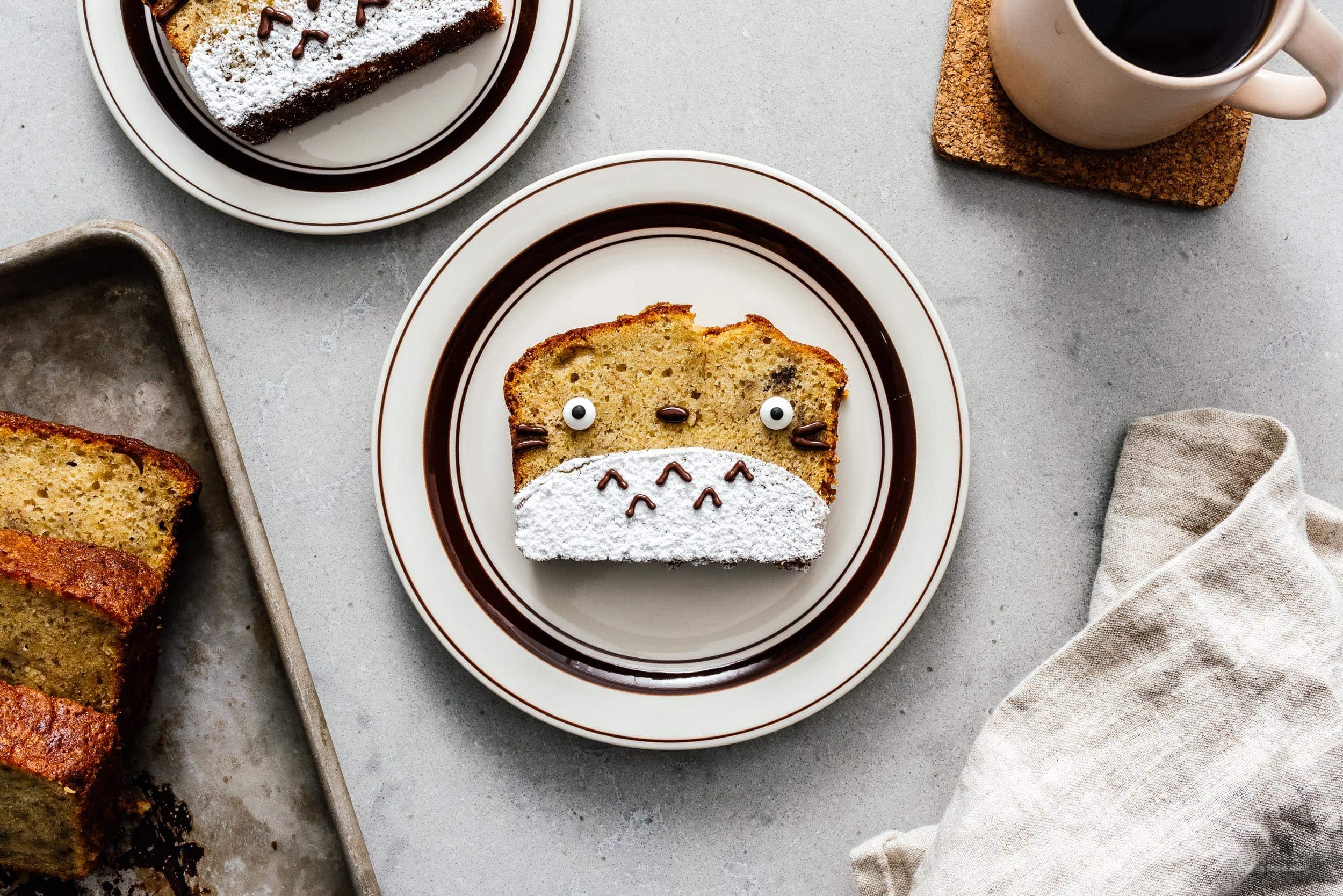 Halloween Treats: Totoro Banana Bread