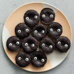 totoro soot sprite brownies | www.iamafoodblog.com