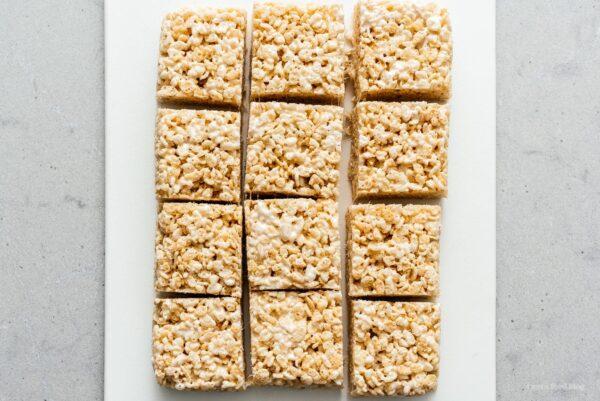 rice krispie treats | www.iamafoodblog.com