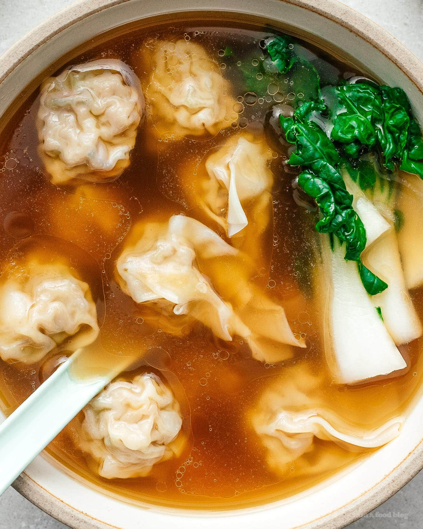 The Best Wonton Soup I Am A Food Blog