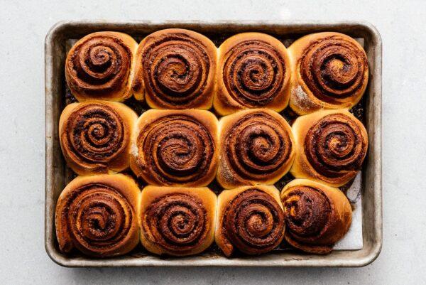 cinnamon rolls baked | www.iamafoodblog.com