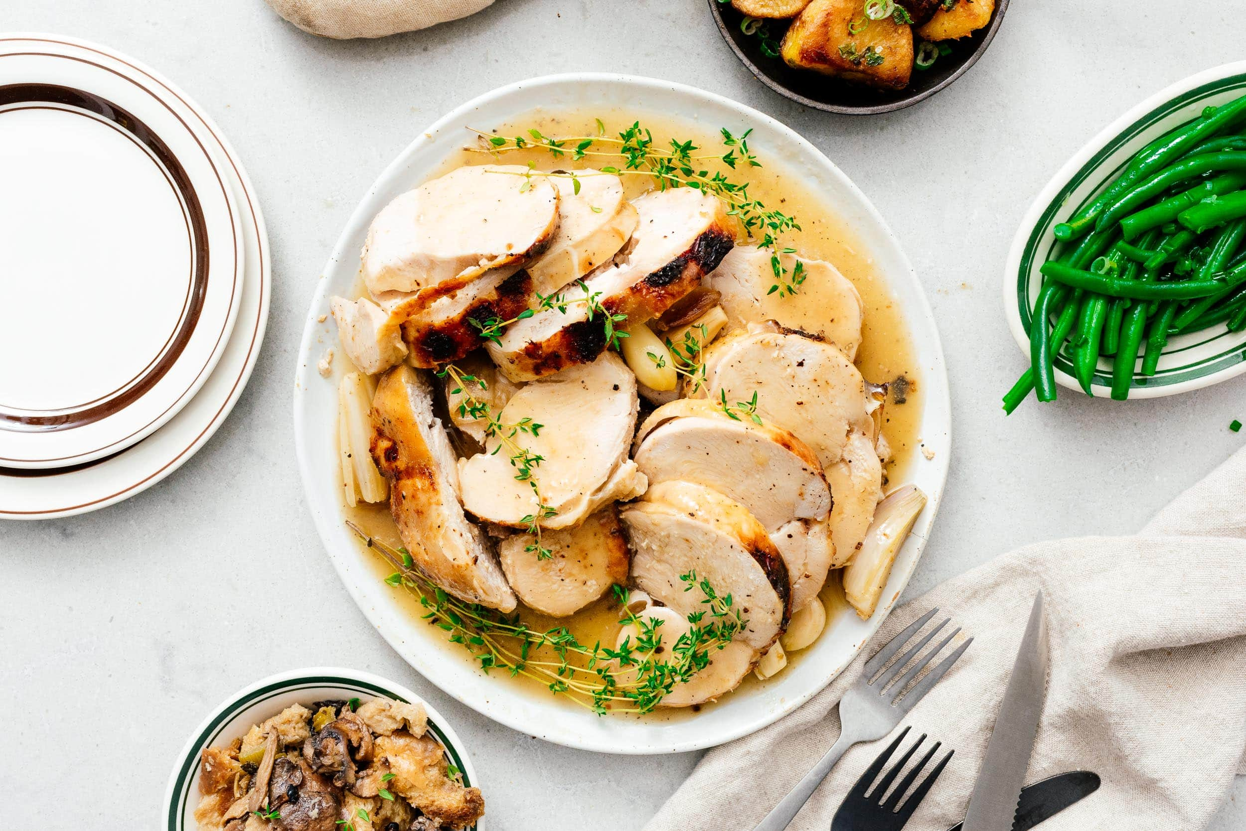 Super Juicy Crock Pot Turkey Breast | www.iamafoodblog.com