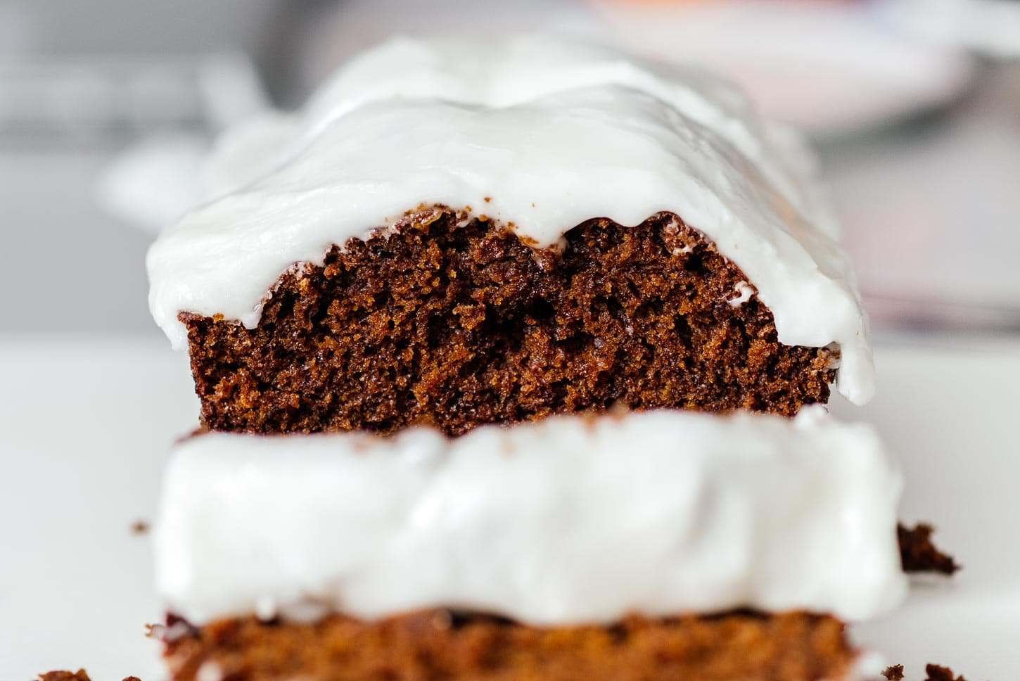 mysterious gingerbread loaf | www.iamafoodblog.com