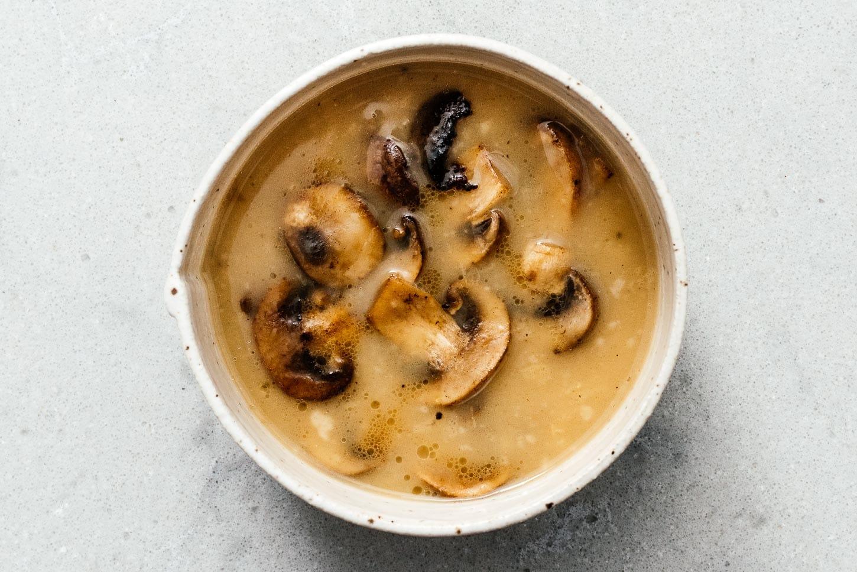 mushroom gravy | www.iamafoodblog.com