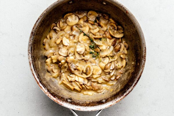 mushroom soup base for green bean casserole | www.iamafoodblog.com