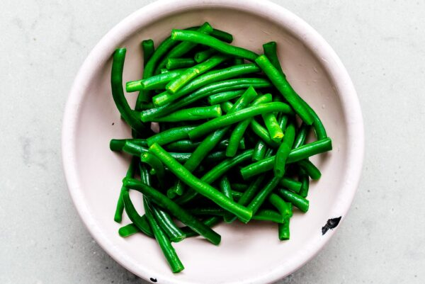 blanched green beans | www.iamafoodblog.com