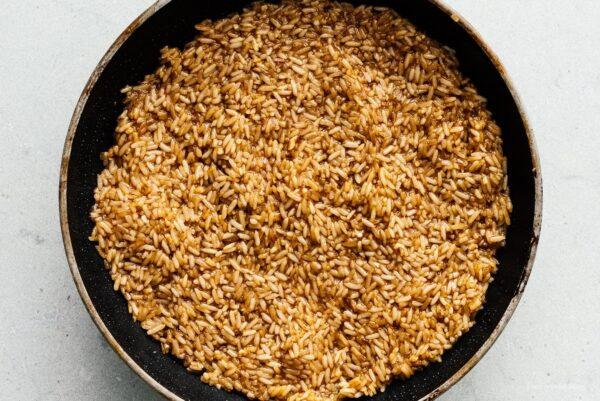 cooked sticky rice | www.iamafoodblog.com