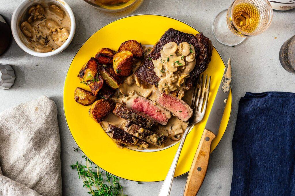 Steak Diane recipe | www.iamafoodblog.com