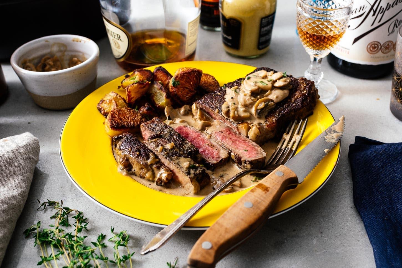 steak diane | www.iamafoodblog.com