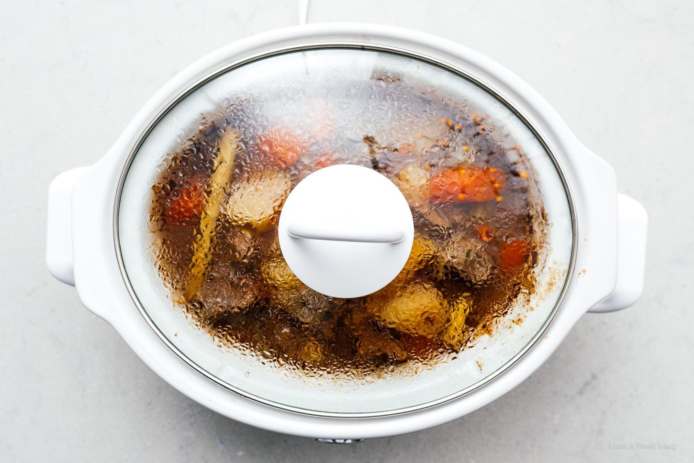 beef stew in a crockpot | www.iamafoodblog.com