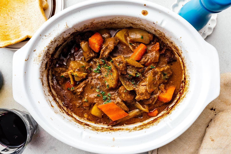 crockpot beef stew | www.iamafoodblog.com