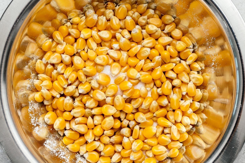 kettle corn popcorn kernels | www.iamafoodblog.com