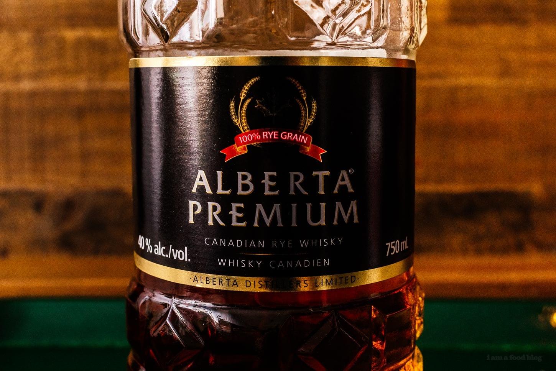 Alberta Premium rye whisky | www.iamafoodblog.com