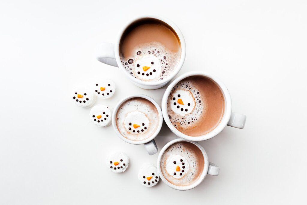 Mint Snowman Marshmallows | www.iamafoodblog.com