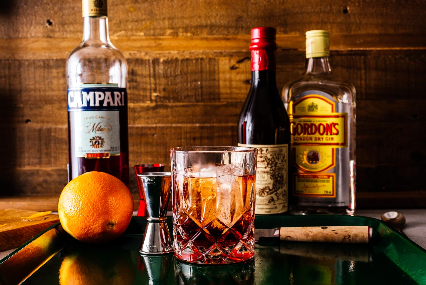 building a negroni | www.iamafoodblog.com