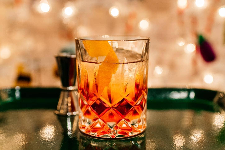 Negroni Christmas Cocktail | www.iamafoodblog.com