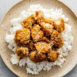 sesame chicken recipe | www.iamafoodblog.com