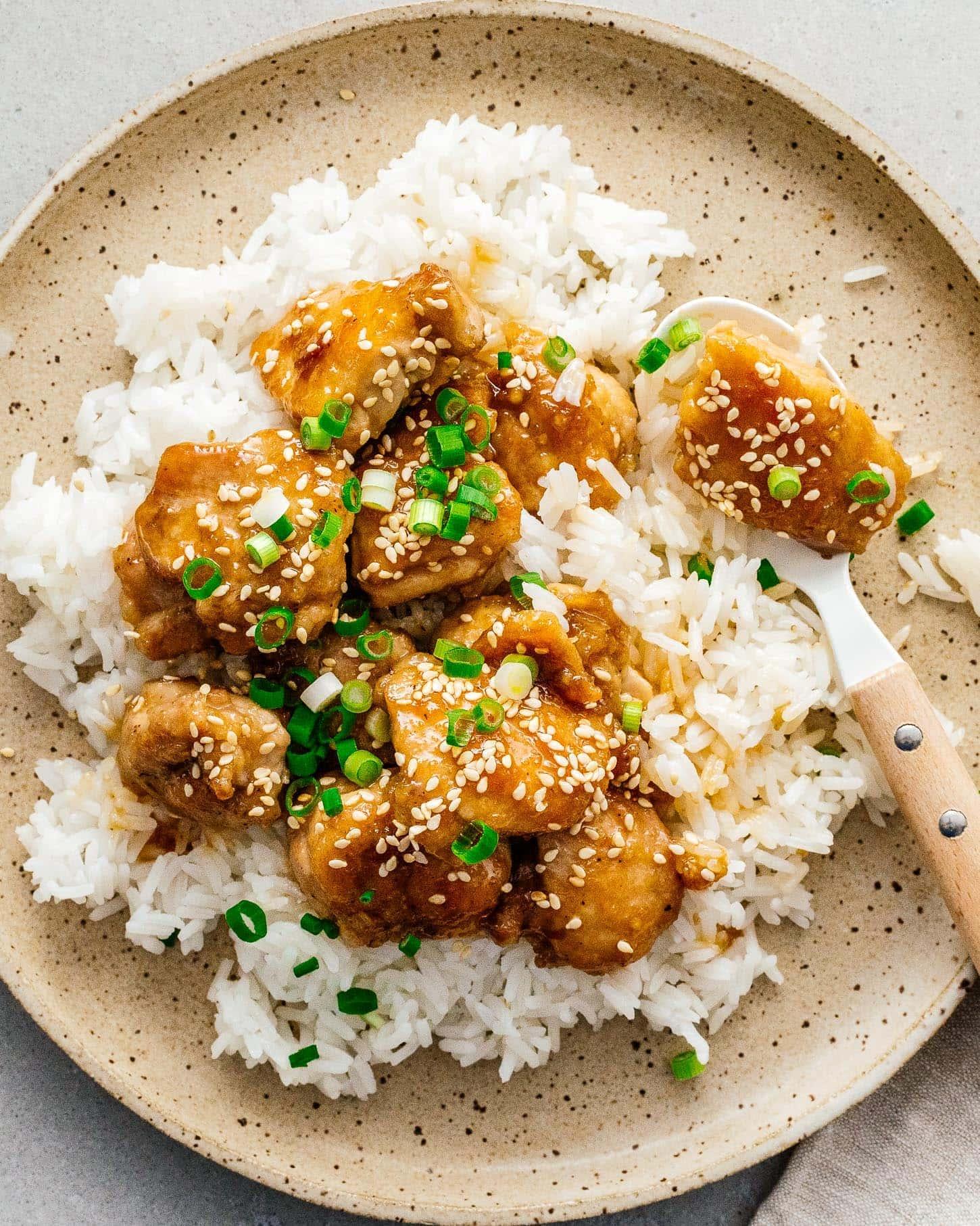 sesame chicken | www.iamafoodblog.com