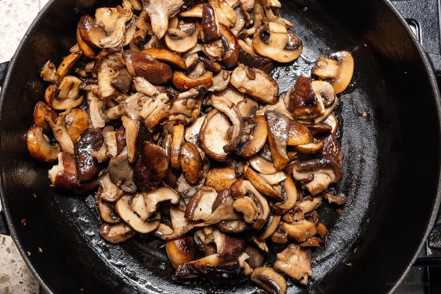 brown butter mushrooms | www.iamafoodblog.com