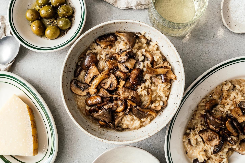mushroom risotto | www.iamafoodblog.com