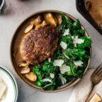Salisbury steak recipe | www.iamafoodblog.com