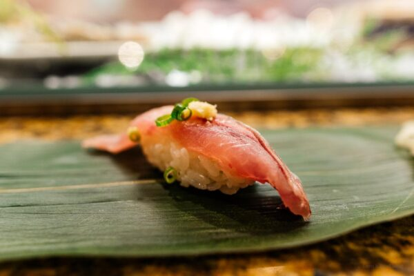 standing sushi bar | www.iamafoodblog.com