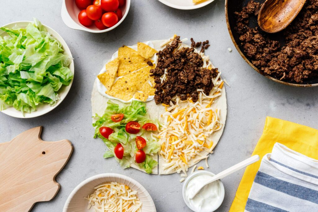 TikTok Tortilla Wrap Hack - this viral Tiktok food trend ...  |Tiktok Wraps