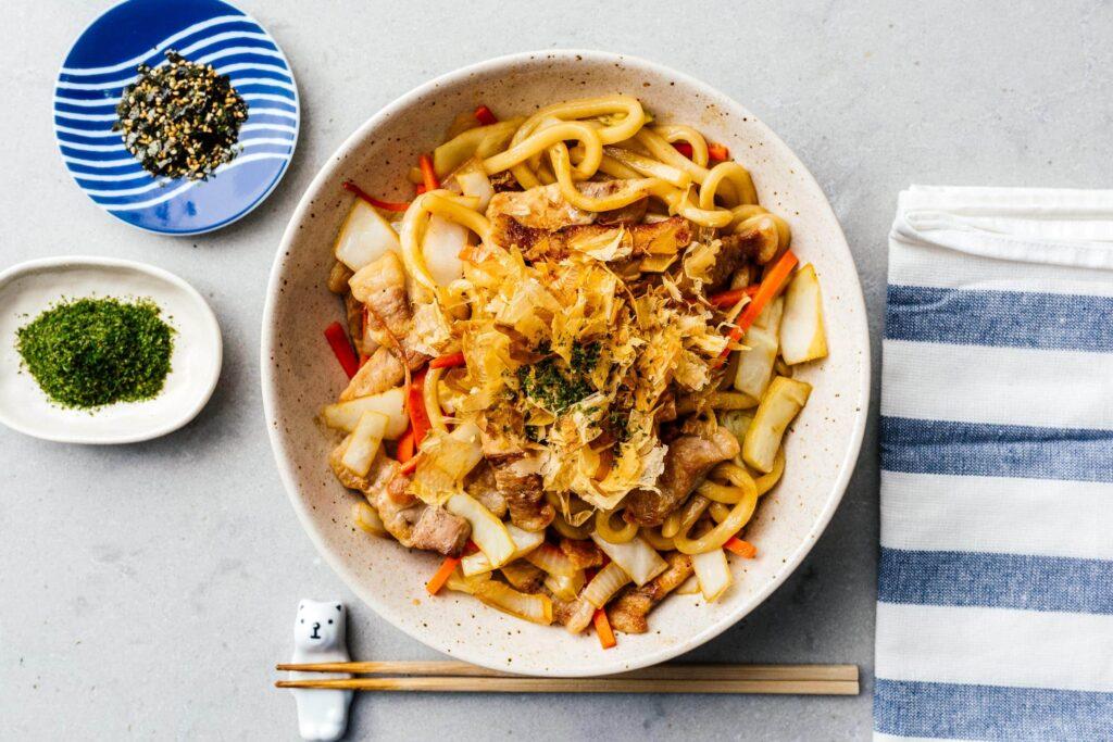 yaki udon recipe | www.iamafoodblog.com
