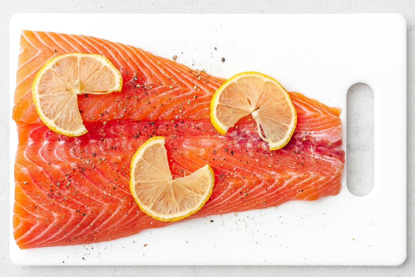 salmon with lemon | www.iamafoodblog.com
