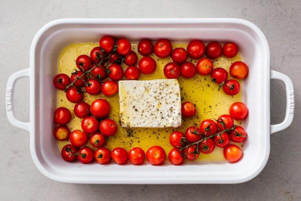 feta and tomatoes | www.iamafoodblog.com