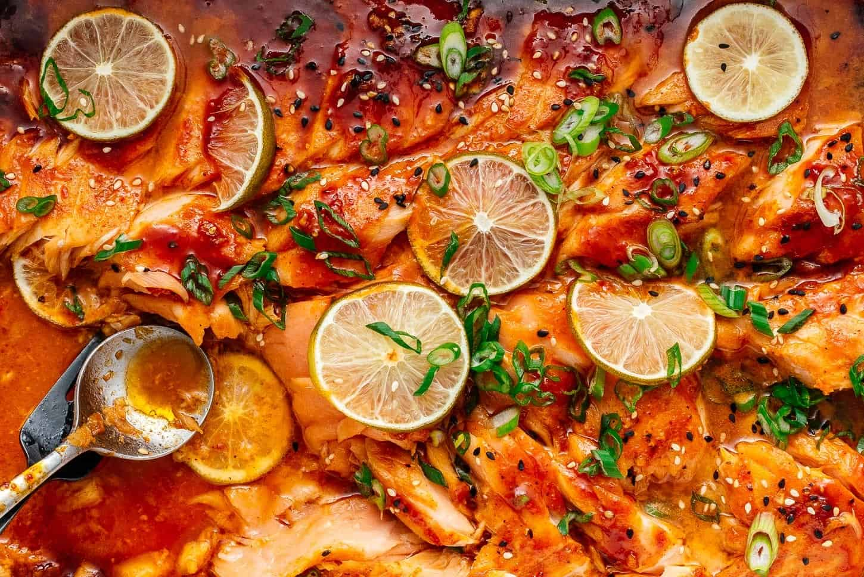 baked salmon recipe | www.iamafoodblog.com