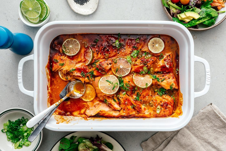 baked salmon | www.iamafoodblog.com
