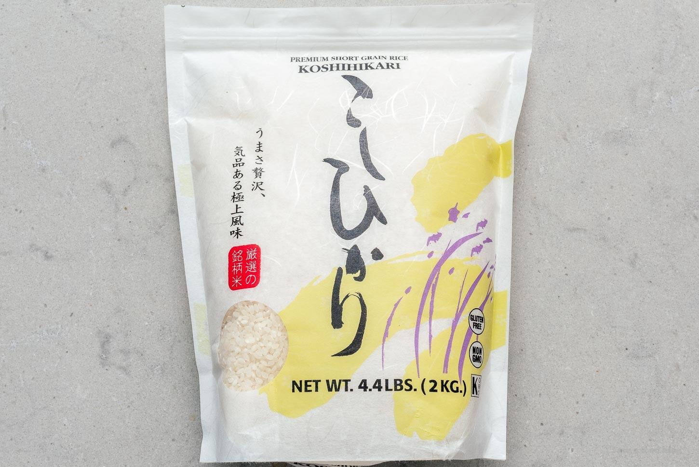 koshihikari rice |  www.iamafoodblog.com