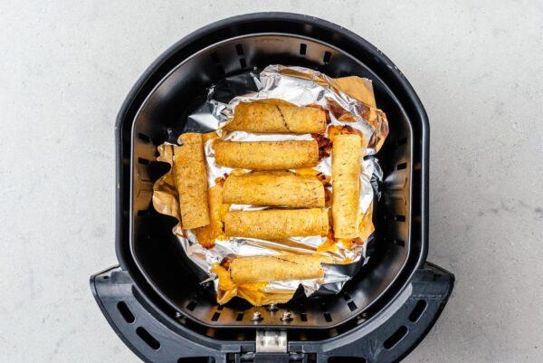 air fryer taquitos | www.iamafoodblog.com