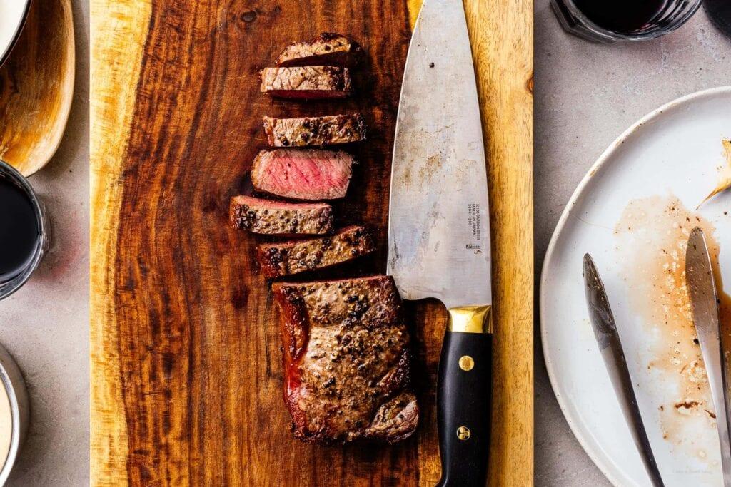 air fryer steak | www.iamafoodblog.com