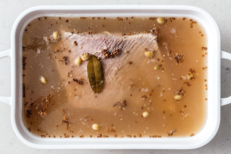 cooked corned beef brisket | www.iamafoodblog.com