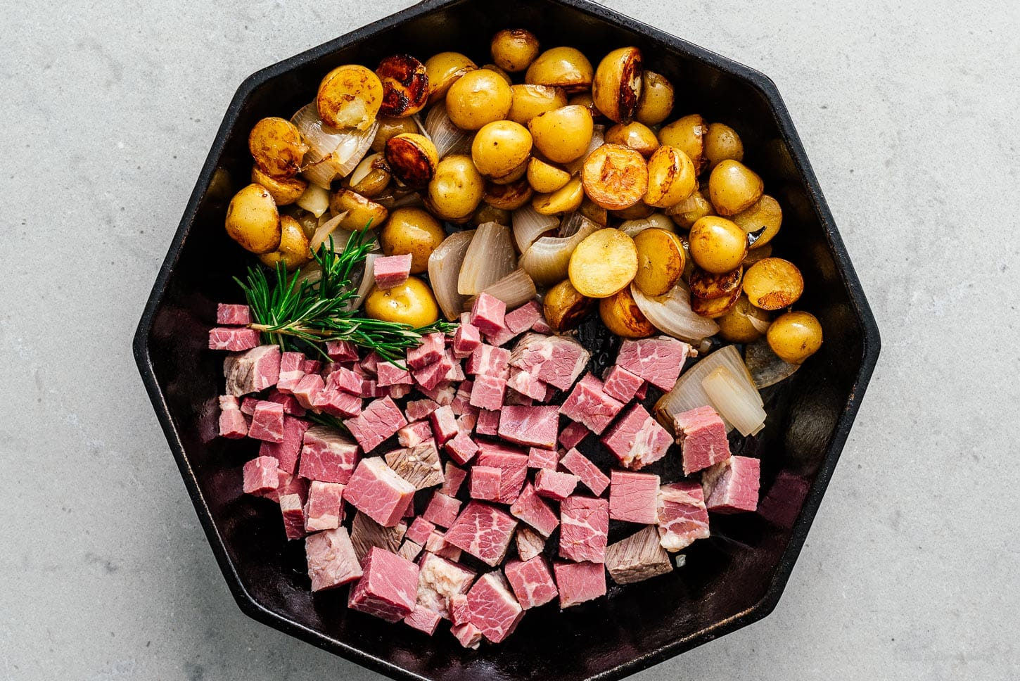 to make corned beef hash |  www.iamafoodblog.com