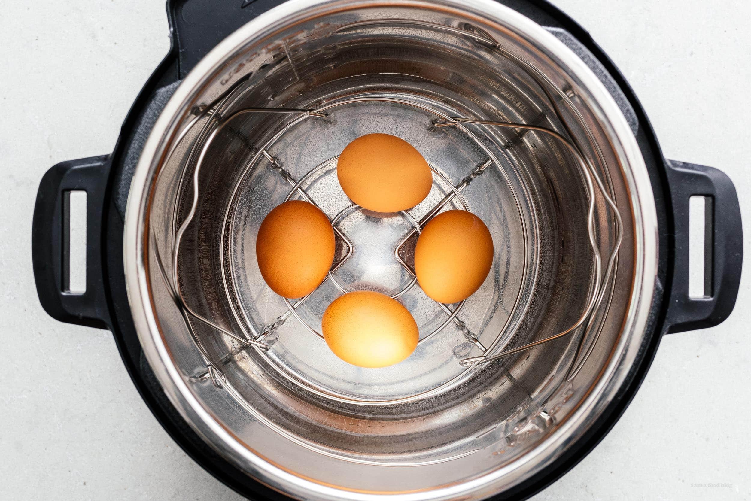 instant pot eggs | www.iamafoodblog.com