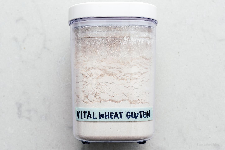 vital wheat gluten | www.iamafoodblog.com