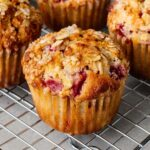 oatmeal and strawberry muffins |  www.iamafoodblog.com