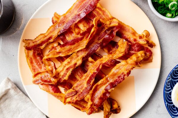 Air Fryer Bacon | www.iamafoodblog.com