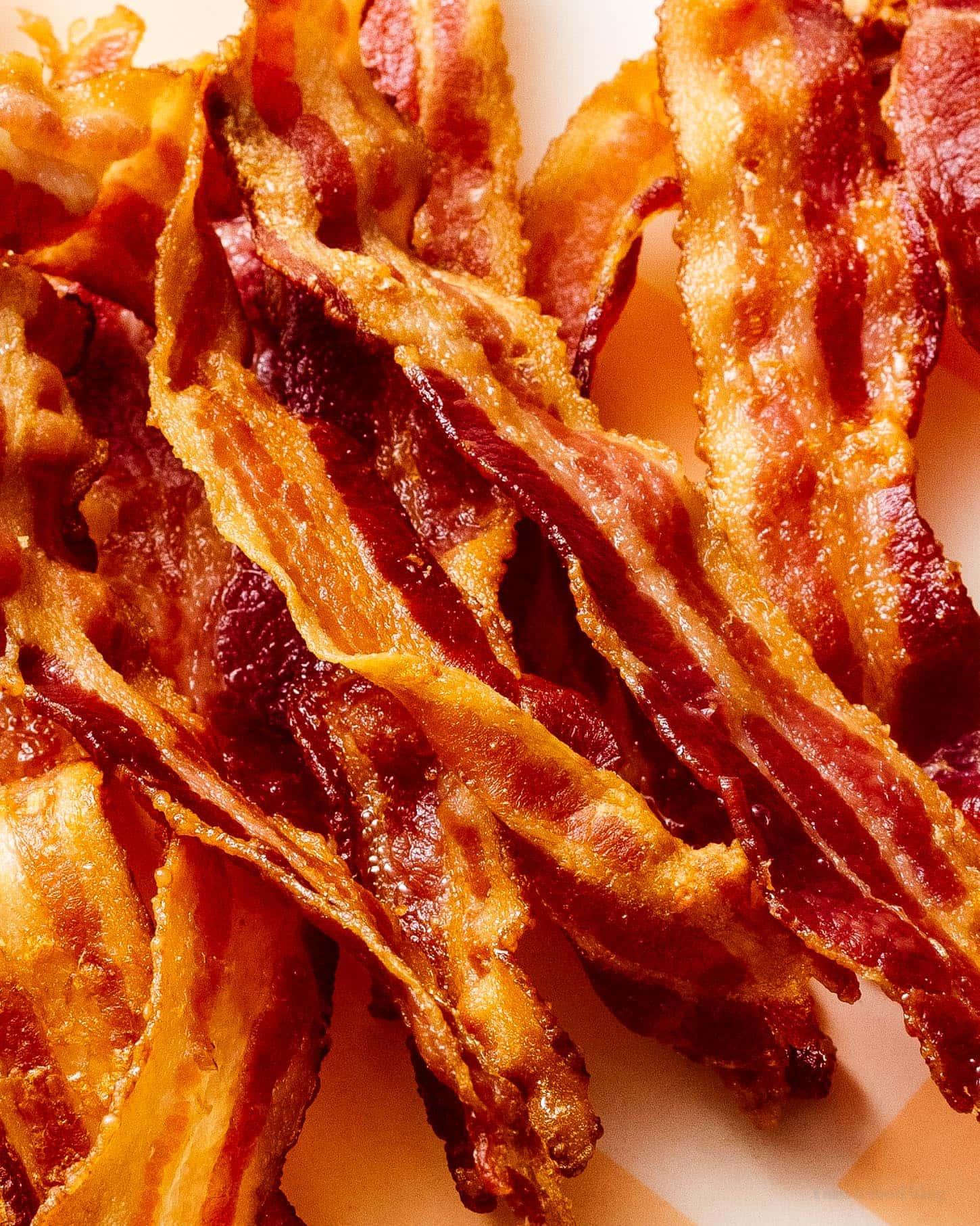 Crispy bacon |  www.iamafoodblog.com