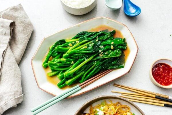 chinese broccoli | www.iamafoodblog.com