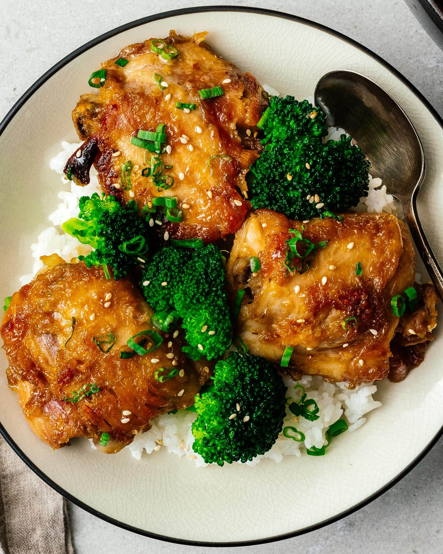 chicken with honey and garlic |  www.iamafoodblog.com