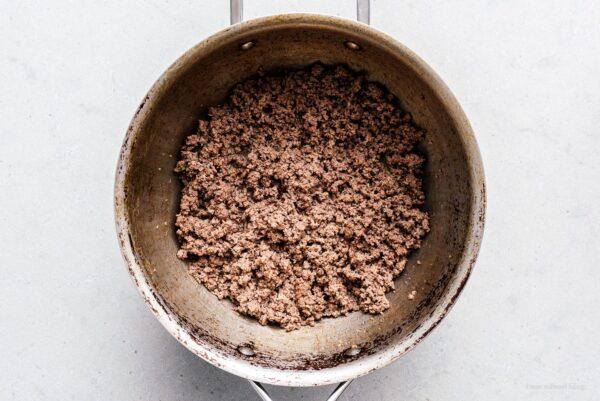 browning ground beef | www.iamafoodblog.com