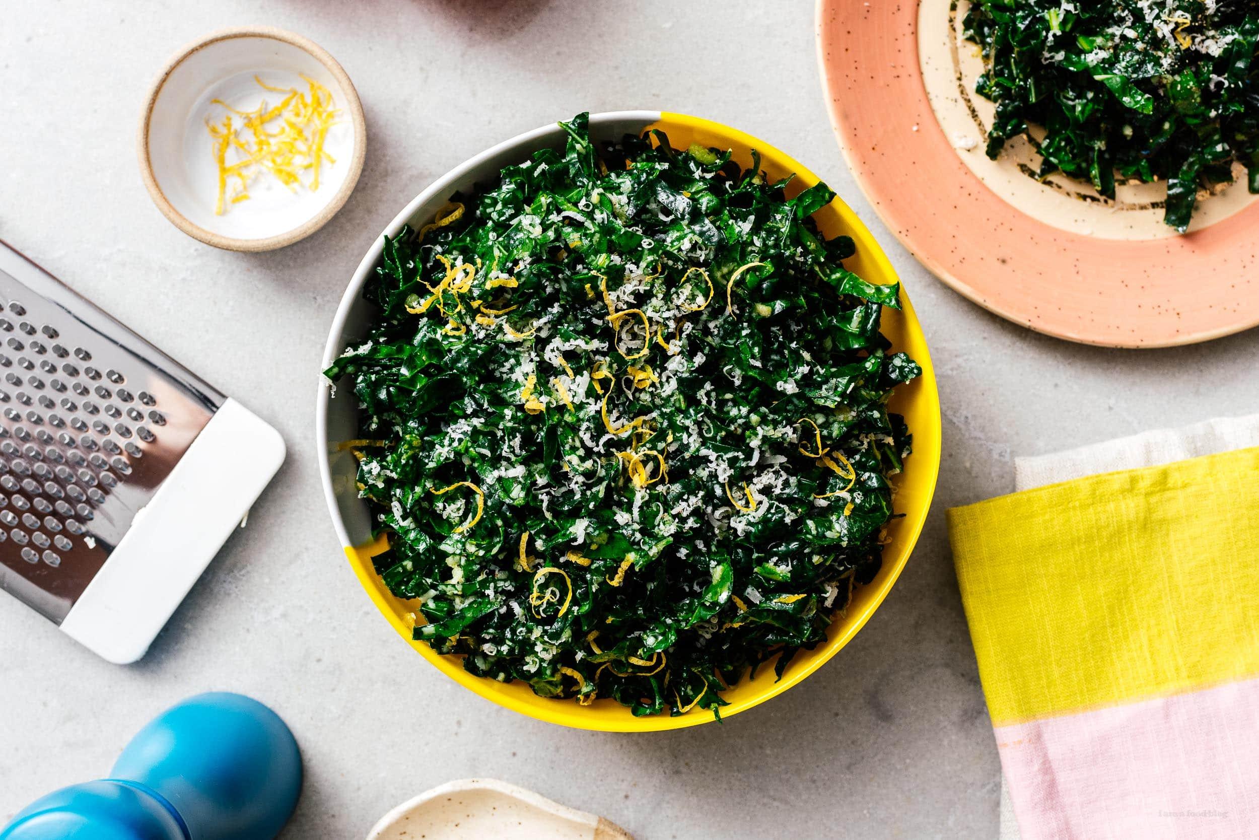 kale salad recipe | www.iamafoodblog.com