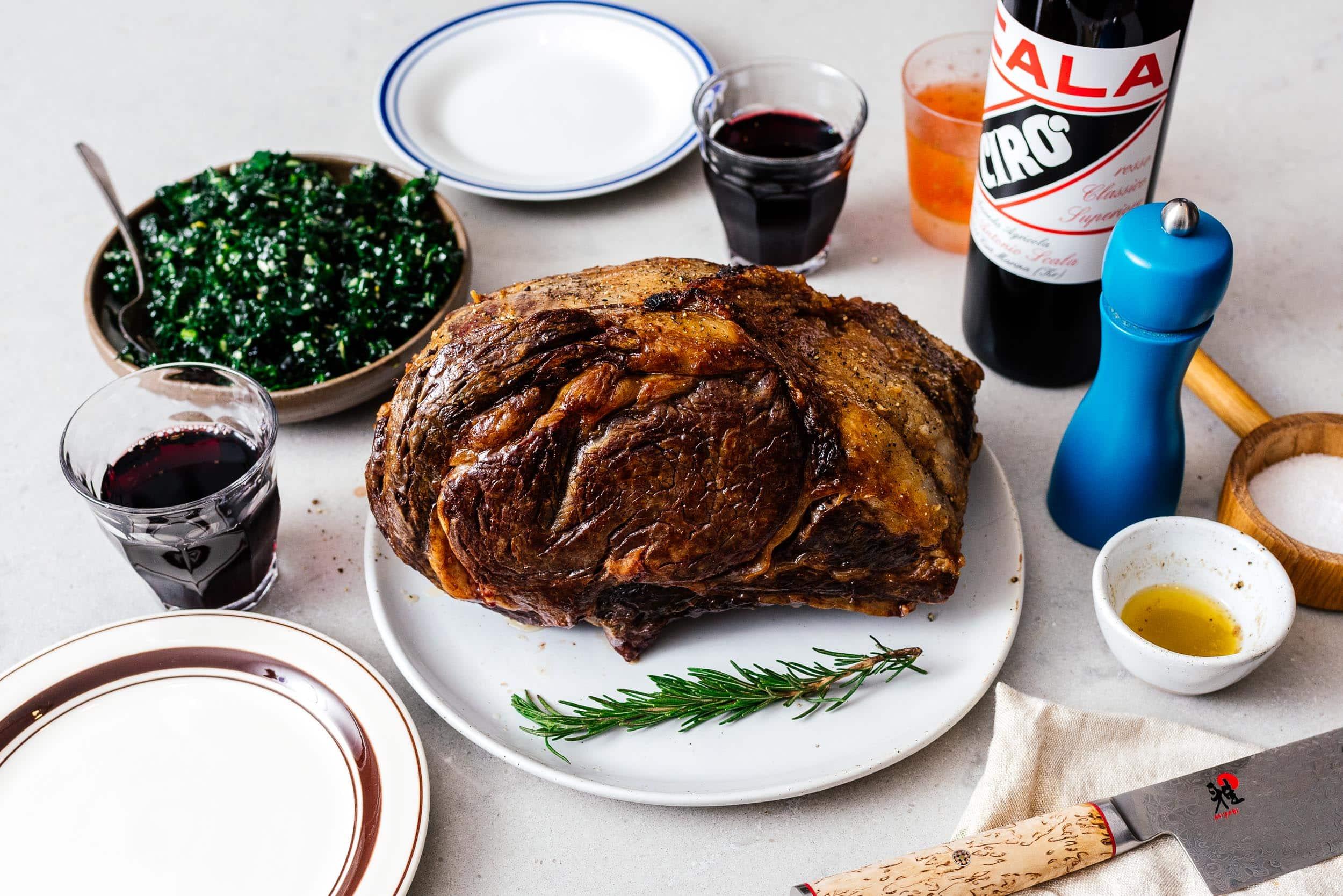 prime rib recipe | www.iamafoodblog.com
