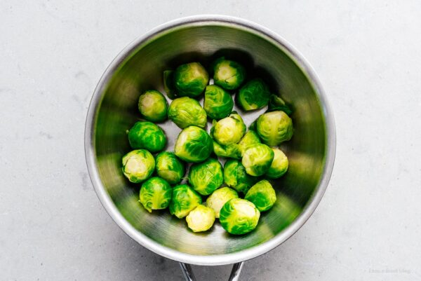 cooked brussel sprouts | www.iamafoodblog.com