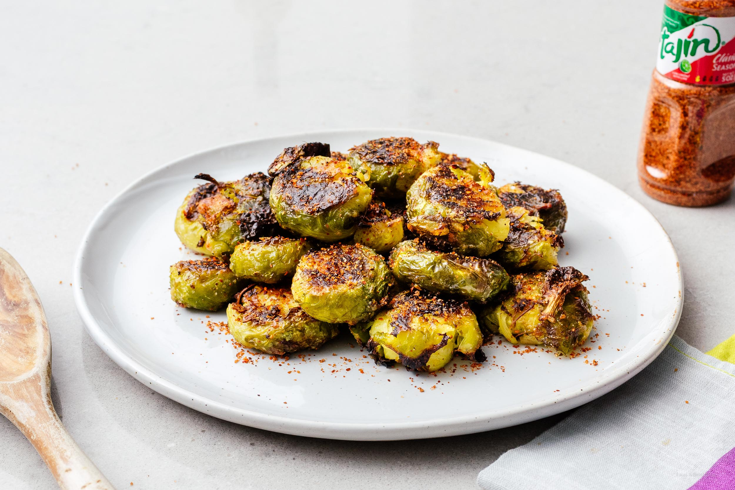 smashed brussel sprouts | www.iamafoodblog.com